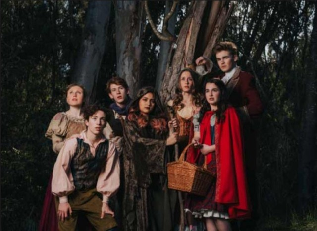 into the woods b